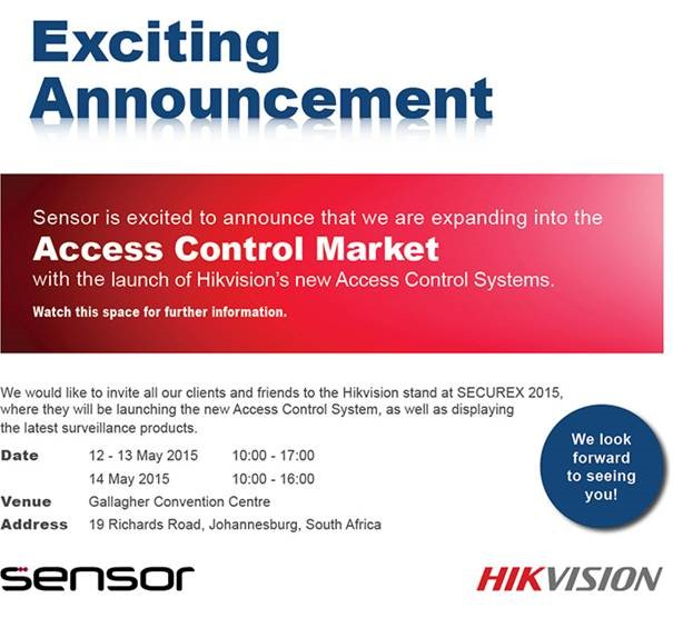 Hikvision launching into Access Control Market
